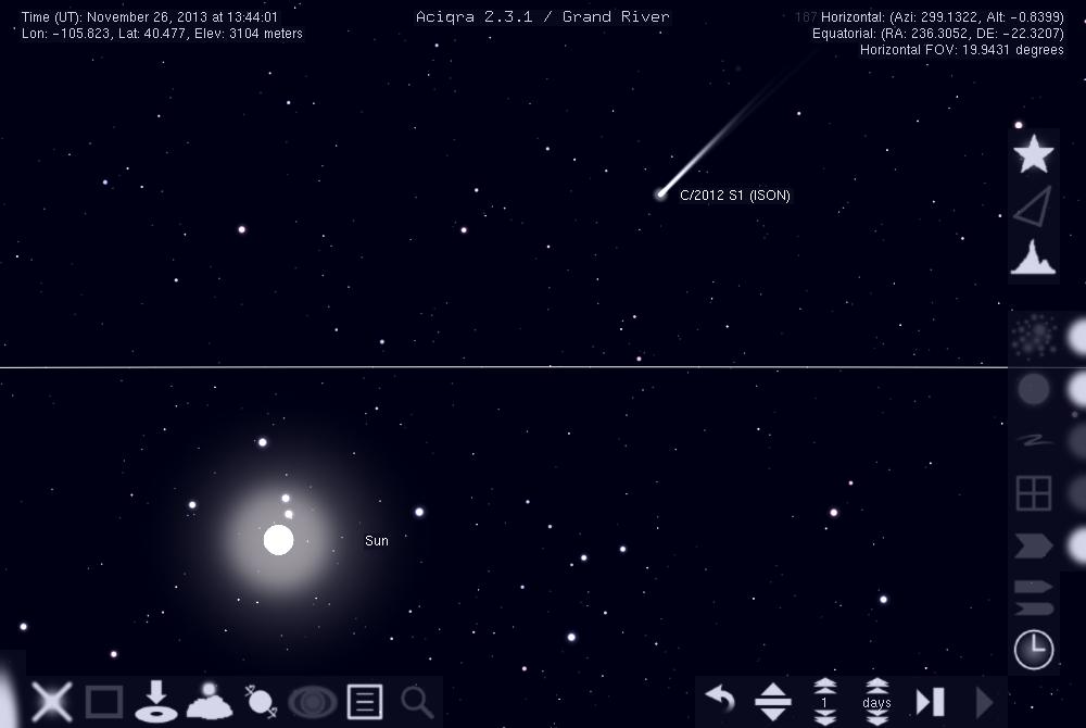 Aciqra: A Virtual Sky Map on